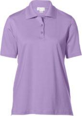 Paarse Poloshirt met korte mouwen Van Peter Hahn paars
