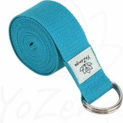Blauwe YoZenga yogariem | yogastrap | Blue