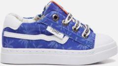 Shoesme sneakers blauw met palmboom print (SH20S036-B). Maat 26