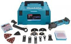 Makita DTM51ZJX3 Multitool - Oscillerend - 18 V - Incl. koffer en 16 accessoires - (geleverd zonder accu en oplader)