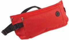 Merkloos / Sans marque Plat reis heuptasje rood 35 cm