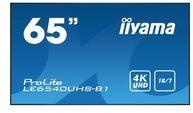 "Iiyama ProLite LE6540UHS-B1 165 cm (65"") Klasse (164 cm (64.6"") sichtbar) LED-Display"