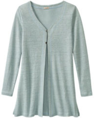 Enna Long-cardigan, gletsjer 40/42
