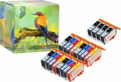 Cyane Ink Hero - 20 Pack - Inktcartridge / Alternatief voor de HP 364 364XL CN684EE CB316EE CB324EE SD534EE CB325EE Photosmart 5510 5512 5514 5515 5520 5522 5524 5525 6520 6510 B110A plus B210 B109A B210A Officejet 4610 4620 4622 Deskjet 3520 3070A