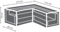 Antraciet-grijze Maxx Lounge set beschermhoes - L 215/85 x 215/85 x 70 cm - trapezium