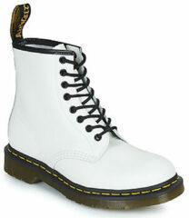 Witte Boots en enkellaarsjes 1460 W by Dr. Martens