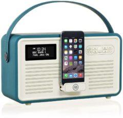 View Quest Retro MKII portable radio, teal