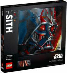 LEGO ART 31200 LEGO® ART Star Wars: De Sith - kunstbeeld