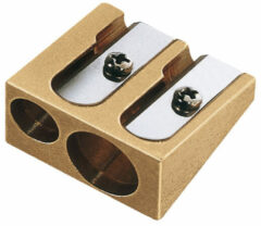 Puntenslijper Möbius & Ruppert messing dubbel kegelvorm