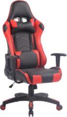 Clp Miracle V2 Bureaustoel - Kunstleer - Zwart/rood