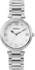 Prisma Dameshorloge P.1450 All stainless Zilverkleurig