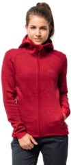 Jack Wolfskin Fleecejacke Frauen Morning SKY Jacket Women L rot