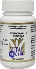 Vital Cell Life Vitamine B6 Pyridoxaal-5-Fosfaat Capsules