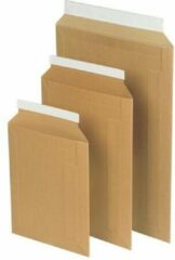 Bruine Pressel Envelop PR. 348x245mm karton br/pk 100