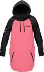 Roze Oneskee Waterdichte dames hoodie Pink/black M