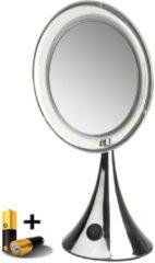 Gerard Brinard Gérard Brinard verlichte make up spiegel LED spiegel incl. batterij - 5x vergroting - Ø20cm spiegels