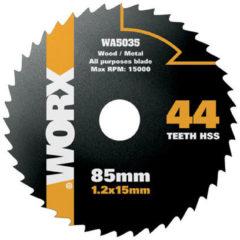 Worx cirkelzaagblad WA5035 hss 85mm 44 tanden
