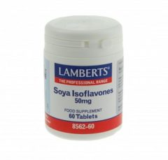 Lamberts Soja Isoflavones 50 mg - 60 Tabletten - Voedingssupplement