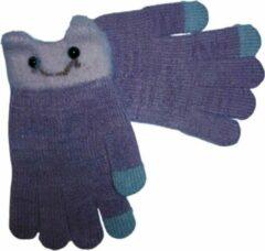 Handschoenen MIGNON voor kids (tot 8-9 j.) van BellaBelga - lavendel