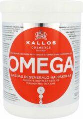 Omega Rich Repair Haarmasker met Omega-6 Complex en Macadamia Olie regenererend masker met Omega-6 Complex en Macadamia Olie 1000ml