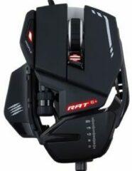 MadCatz R.A.T. 6+ Gaming-muis USB Optisch Verlicht, Ergonomisch, Gewichtsreductie, Polssteun, Geïntegreerd profielgeheugen Zwart