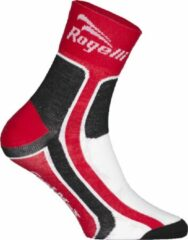 Rode Rogelli Wielersok RCS-03 Coolmax Rd/Zw/Wit 36-39