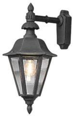 Konstsmide Pallas Down 483-750 Buitenlamp (wand) Energielabel: Afhankelijk van de lamp Spaarlamp, LED E27 60 W Zwart