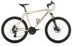 KS Cycling MOUNTAINBIKE HARDTAIL 24 GÄNGE GTZ 26 ZOLL MTB Fullsuspension Herren weiß