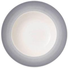 Grijze Villeroy & Boch Colourful Life Cosy Grey Diep bord - Ø 25 cm