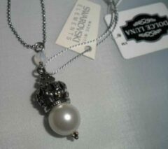 Witte Dolce Luna Whiht Pearl Crowns