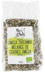 Nice&Nuts Omega zadenmix Nice & Nuts - Zak 750 gram - Biologisch