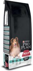 PURINA® PRO PLAN® Hond Medium Adult Sensitive Digestion met OPTIDIGEST® Rijk aan Kip droge brokken 14kg
