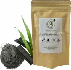 Groene Green-goose® Tandpasta Tabletten | Navul Verpakking | 180 Tandpastatabletten | 3 Maanden | Actief Houtskool | Vegan | Geen Fluoride