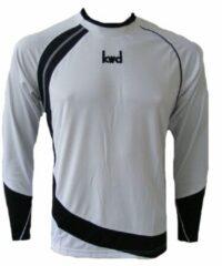 KWD Shirt Nuevo lange mouw - Wit/zwart - Maat 116/128 - Mini