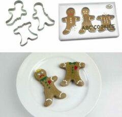 Zilveren Fred ABC Cookies koekjesvormen