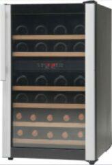 Zwarte Vestfrost Solutions WB32A Vrijstaande Wijnklimaatkast 2 temperatuurzones 38 flessen