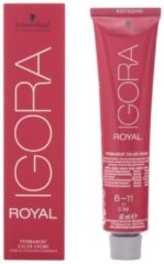 Rode Schwarzkopf Professional Schwarzkopf - Igora - Royal - 5-63 Lichtbruin Roodbruin Mat - 60 ml