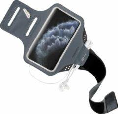 Zwarte Mobiparts Comfort Fit Sport Armband Apple iPhone 11 Pro Black