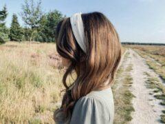 Huidskleurige Rosy Bandit Haarband - Everyone needs a basic like this