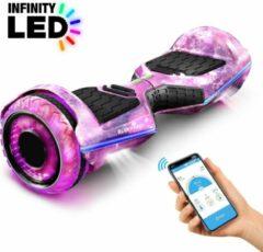 Roze 6,5 inch premium hoverboard Bluewheel HX360 - Duits kwaliteitsmerk - veiligheidsmodus voor kinderen - infinity LED-wielen & app
