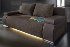 Collection AB Schlafsofa, wahlweise mit LED-Unterbeleuchtung