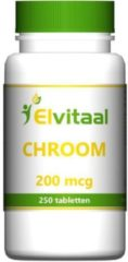 Elvitaal Chroom - 250 Tabletten - Mineralen