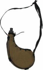 MFH Veldfles, 'Bota', coyote tan, plastic, ca. 0,75 liter