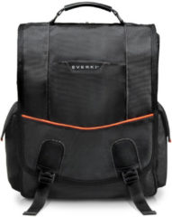 "Zwarte Everki Urbanite Vertical Laptop Messenger 14.1"" Black"