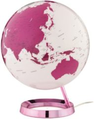 Atmosphere Globe Bright HOT Pink 30cm diameter kunststof voet met verlichting