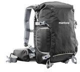 Mantona ElementsPro 30 - Rucksack für Kamera mit Objekiven und Tablet