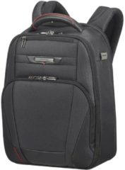 Zwarte Samsonite Laptoprugzak - Pro-Dlx 5 Laptop Backpack 14.1 inch Black