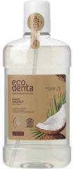 Ecodenta Mondwater Munt Kokos (500ml)