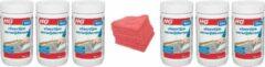 HG vloerlijm-verwijderaar Doos 6 Stuks + 10 Microvezeldoeken