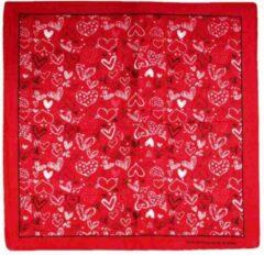 Zac's Alter Ego Bandana Heart themed Mondkapje Rood